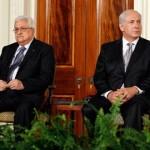 イスラエルのネタニヤフ首相とパレスチナ大統領マフムード・アッバス。