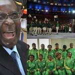 ジンバブエ大統領ロバート・ムガベのオリンピックチーム