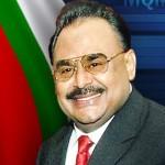 パキスタン統一民族運動のチーフAltaf Hussain氏(MQM)