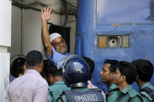バングラデシュJamaat-電子イスラムの指導者ミールカッサムアリ
