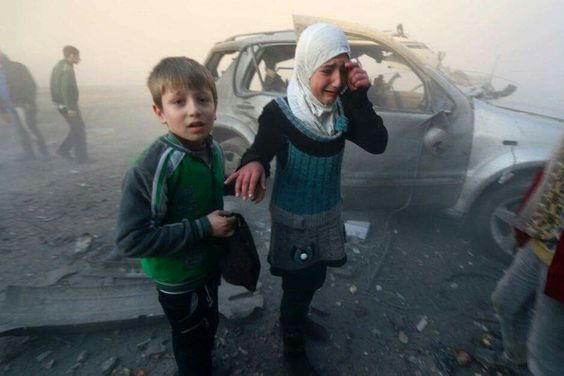 レポート:教育を奪わシリア2700万子供の内戦