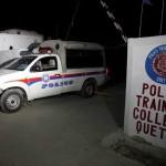 殺さクエッタ、59の警察訓練センターでの自爆攻撃、120人が負傷