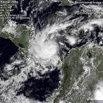 オットーは今日、コスタリカとニカラグアにハリケーンが命中した