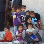 今年シリアで孤立した人の数は1000万人に達した