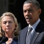 バラク・オバマ米大統領、ヒラリー・クリントン