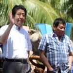 安倍晋三首相とロドリゴ・ロア・デュテテル大統領