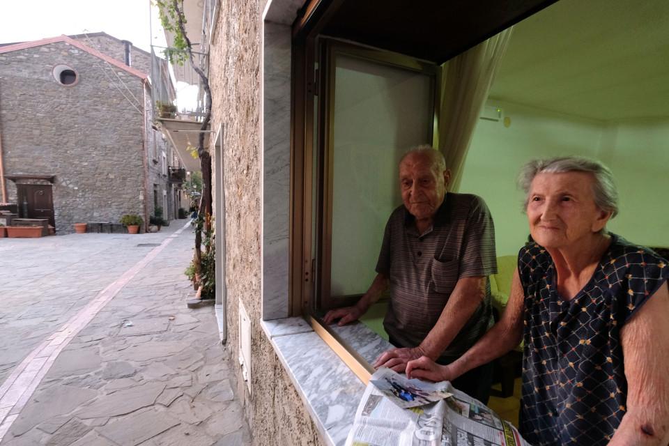 700人のこの村の81人は100歳以上です