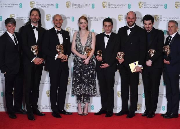 6つのオスカー賞を受賞したララ・ランドのチーム