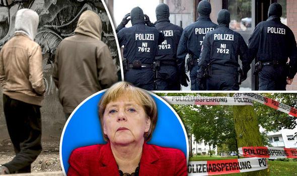 ドイツ首相、アンゲラ・メルケが移民入国後の暴力を増やした
