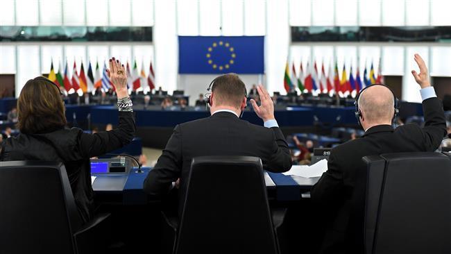 欧州議会議員がフランスのストラスブールで会議を開催