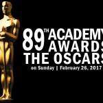 第89回オスカーアカデミー授賞式が2月26日に開催されます