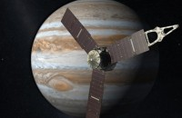 NASAのジュノ宇宙船はジュピター惑星によって密接に到達した