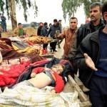 イラクと連立航空による2か月間の戦闘で307人が死亡し、273人が負傷した