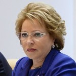 ロシア連邦理事会議長Valentina Matviyenko
