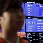 日経平均株価は18千552クローズし、火曜日と比較して195ポイント低下した