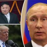 ウラジミールプーチン大統領は、頭部の最も強力な2つの国々に深刻な脅威を与えた