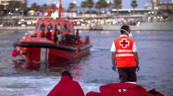 地中海を通ってヨーロッパに到達しようとするリビアの試みの中で溺死した126人の移民