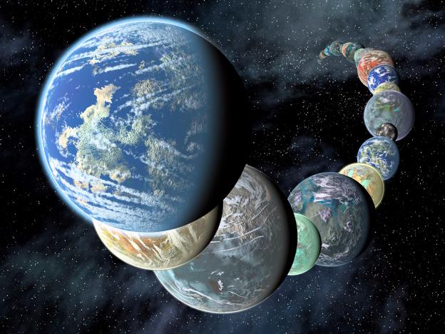 新しい発見飛行機のうち、10の惑星は地球に等しい