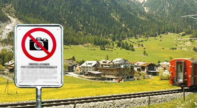 この村はBergün/ Bravuognは有名なスイスアルプス山