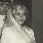 国家の母親、パキスタンの創設者のファチマ・ジンナ姉妹、クイード・アザム・ムハンマド・アリ・ジンナ