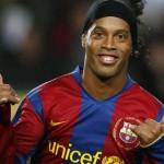 ブラジルのスター選手、ロナウジーニョ