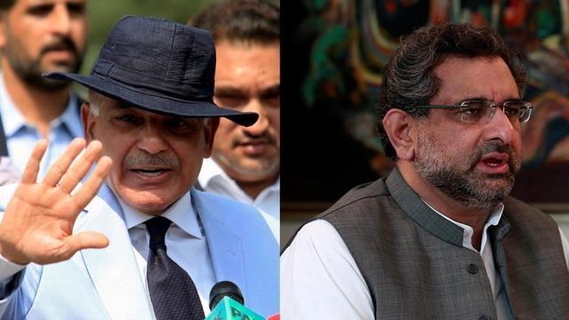 Shahid Khaqan Abbasiを中間総理として、Shahbaz Sharifは代替首相を指名した