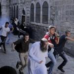 50歳未満の男性はアル・アクサ・モスクへの入国を禁止されている