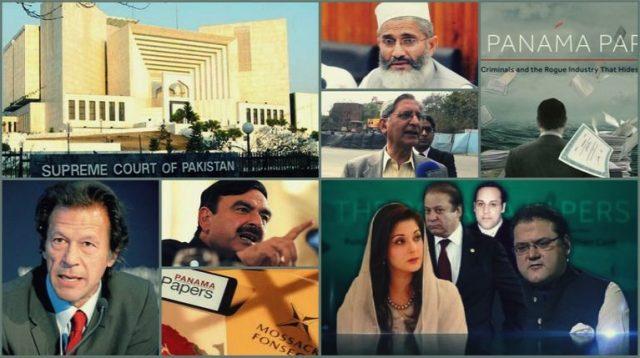 最高裁判所のJIT報告書を聞いて、Sharif家はJIT報告書で最高裁に異議を申し立てた