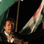 感謝祭はイスラマバードのパレード地でパキスタン・テヒク・エ・インサフ(PTI)によって祝われました