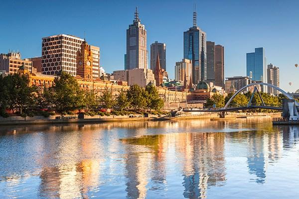 オーストラリアの都市メルボルン