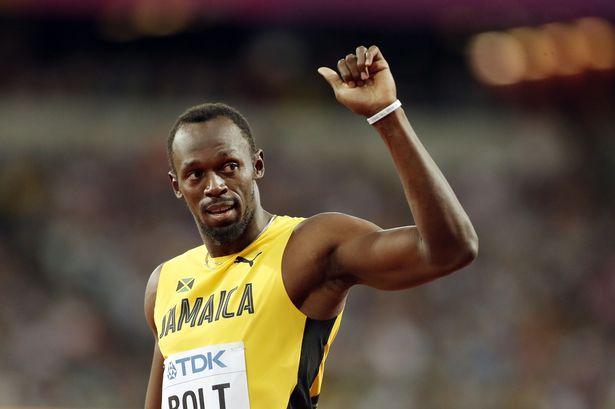Usain Boltは100メートルのレースで9.95秒でこの距離を設定しました