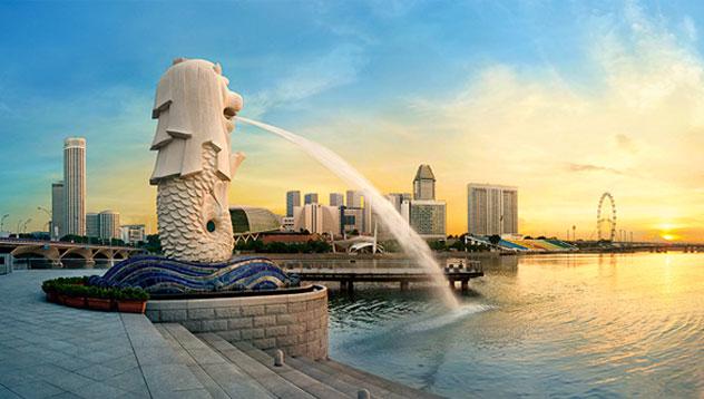 平和のシンガポールは世界初