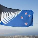 提案された新しいサンプル名Silver Fernの旗