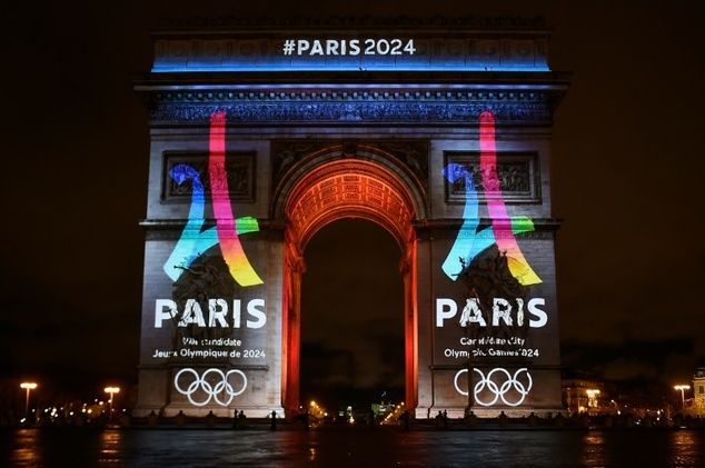 IOCは、2024年のオリンピックを開催するパリを決定した