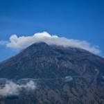 アグン山の火山、インドネシアバリ島