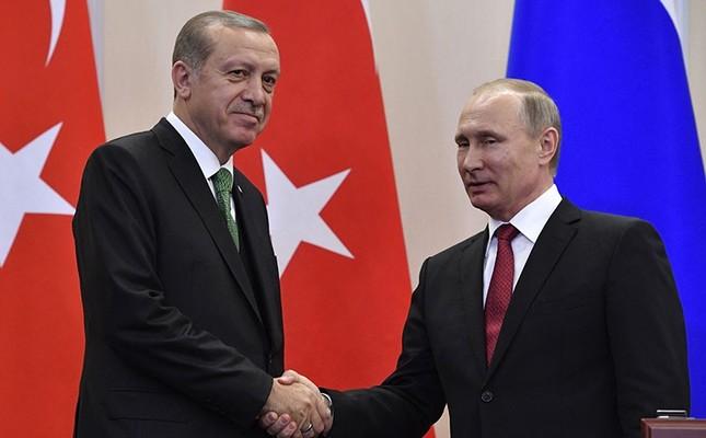 プーチン大統領はトルコにエルドガンを満たすために上陸した