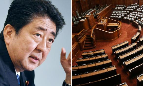 安倍晋三首相は、議会解散後の選挙を発表した