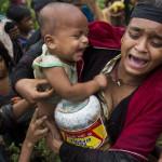 ロヒンギャのムスリム難民の80,000人以上の子供たちは、汚染された水や栄養不足のために様々な病気に苦しんでいます。