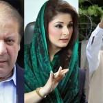NAB参照で起訴された説明責任法廷Nawaz Sharif、Maryam Nawaz、Safdarキャプテン