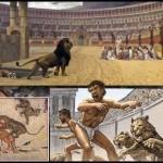 ローマの偉大な王国では、奴隷制度は最悪の形であり、グラムは人間の地位を得ていませんでした