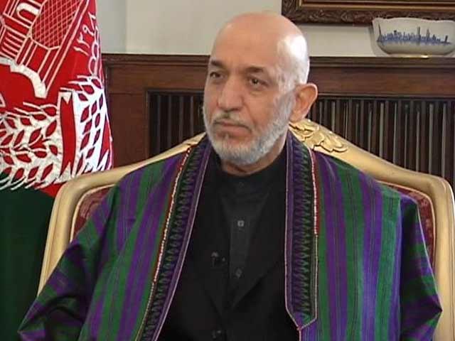 元アフガニスタンのハミド・カルザイ大統領