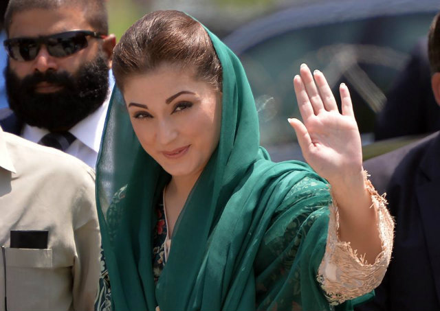 元首相ナワズ・シャリフの娘、マリアム・ナワズ