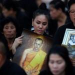 タイのBhumibol Adulyadej王の最後の儀式を捧げる5日間のお祝い
