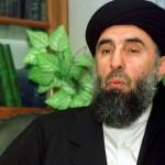 アフガニスタンのHizb-e-Islamiの頭部、Gulbuddin Hekmatyar