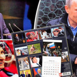ウラジミールプーチン大統領、2018年の暦年のイメージを発表