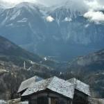 スイスの村Albinen