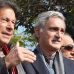 イフラン・カーン(Tehreek-e-Insaf)会長とジャハンギル・タレン(Jahangir Tareen)会員