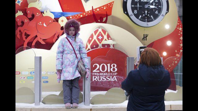 FIFAワールドカップ2018、ロシアでのカウントダウン開始