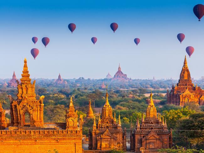 近年、ミャンマーはバケットリストの宛先として浮上していた