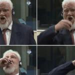 数千人の殺人者ボスニアのイスラム教徒が国連裁判所で飲酒毒を飲んだ